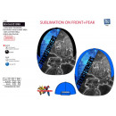 Transformers - cap sublimated 100% polyester /