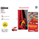 Cars - beach towel 100% polyester