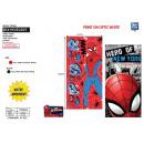 Spiderman - 100% polyester beach towel
