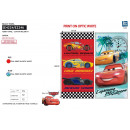 CARS 3 - serviette de plage 76% cotton / 24% polye
