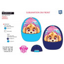 Paw Patrol - cap sublimated 100% polyester
