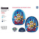 Paw Patrol - cap sublimated 100% polyester / 1