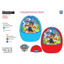 PAW PATROL - casquette sublimee 100% polyester