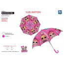 wholesale Bags & Travel accessories: LOL SURPRISE - umbrella d: 69 100% polyester