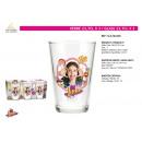 Soy Luna - glass 23,7cl 3 pieces
