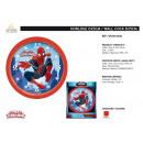 Großhandel Uhren & Wecker:Spiderman - d25cm Uhr
