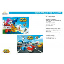 Super Wings - 3d placemat