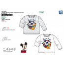 Mickey - T-Shirt long sleeves 100% coton