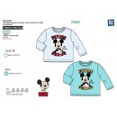 Mickey - - T-Shirt lange Ärmel 100% Baumwolle