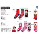 Minnie - pack of 3 socks 70% cotton 18% polyester