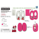 wholesale Shoes: Minnie - 100% elastic slippers polyester