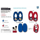 wholesale Fashion & Apparel: Mickey - 100% elastic slippers polyester