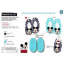 Mickey - 100% elastic slippers polyester