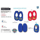 Paw Patrol - 100% elastic slippers polyester