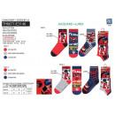 Großhandel Lizenzartikel: LADY BUG - Packung mit 3 Socken aus 70% Baumwolle