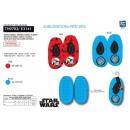 Star Wars IX - elastische Hausschuhe 100% Polyeste