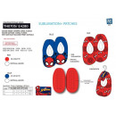wholesale Socks and tights: Spiderman - 100% elastic slippers polyester