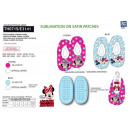 Minnie - 100% elastic slippers polyester
