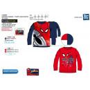 Spiderman - - T-Shirt lange Ärmel 100% Baumwolle