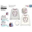 mayorista Artículos con licencia: frozen - T-Shirt manga larga 100% algodón