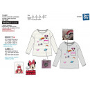 Minnie - - T-Shirt Langarm 100% Baumwolle