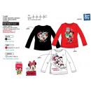 Minnie - - T-Shirt lange Ärmel 100% Baumwolle