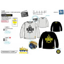 wholesale Licensed Products: Minions - T-Shirt long sleeve 100% coton