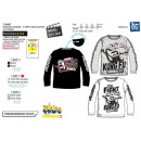 Minions - T-Shirt long sleeve 100% coton