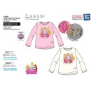 mayorista Artículos con licencia: Princess - T-Shirt manga larga 100% algodón
