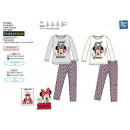 Minnie - pijama largo estampado 100% algodón