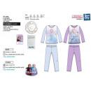 frozen - Pijama orgánico 100% largo algodón