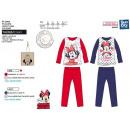 Großhandel Lizenzartikel: Minnie - 100% lange Bio-Pyjamas Baumwolle