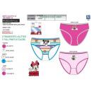 wholesale Underwear: Minnie - box of 3 panties 100% coton