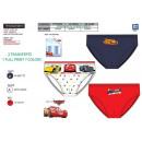 wholesale Underwear: Cars 3 - box of 3 100% briefs coton
