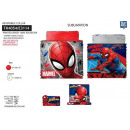 grossiste Articles sous Licence: SPIDERMAN - collar reversible 100% polyester