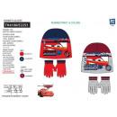 Cars - Set mit 2 Multi Hüten und Handschuhen