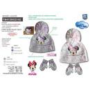 Minnie - Set mit 2 Multi Hüten und Handschuhen