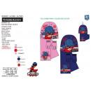 LADY BUG - set 3 pezzi sciarpa, guanti e cappello