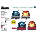 groothandel Licentie artikelen: Avengers CLASSIC - beanie met meerdere composities