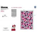 Minnie - 100% Sherpa Plaid 90x140cm Polyester