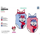 Minnie - erhabenes 1-teiliges Bad 82% Polyester 18