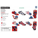 LADY BUG - Pack 3 niedrige Socken 55% c