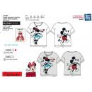 Minnie - - T-Shirt kurze Manschette 100% Baumwolle