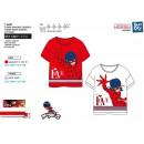 nagyker Licenc termékek: LADY BUG - T-Shirt rövid mandzsetta 100% pamut
