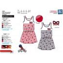 LADY BUG - 100% ärmelloses Kleid Baumwolle