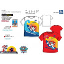wholesale Licensed Products: Paw Patrol - T-Shirt short cuff 100% coton