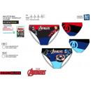 nagyker Licenc termékek: Avengers CLASSIC - Subli fürdő rövid dev / back 82