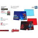 Avengers CLASSIC - Erhabene Badeboxer-Slips 82% Po