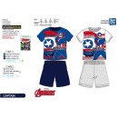 Avengers KLASSISCH - Pyjacourt T-Shirt & sh 10