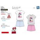 Minnie - pyjacourt T-Shirt & sh 100% coton